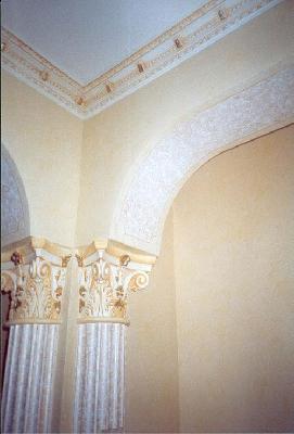 Stucchi decorativi in gesso reggio calabria - Decori in gesso per interni ...