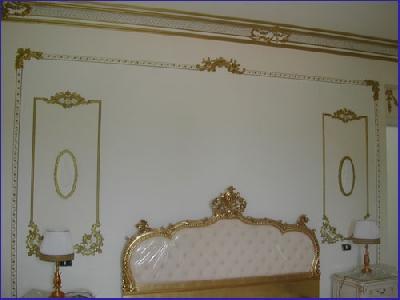 Stucchi gesso per interni pannelli termoisolanti - Decori in gesso per interni ...