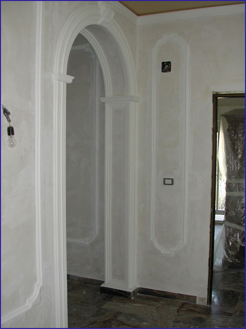 Stucchi decorativi in gesso calabria - Stucchi decorativi per pareti ...